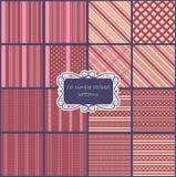 Big set of vintage patterns Royalty Free Stock Photos