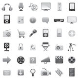 Big set of web icons 1. Set of web icons vector Stock Images