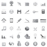 Big set of web icons 2 Royalty Free Stock Photos