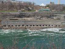 Big Sewage. Sewage at Niagara Falls Royalty Free Stock Image