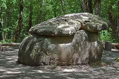 Big Shapsug dolmen Royalty Free Stock Photo