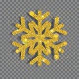 Big shiny Christmas snowflake Royalty Free Stock Images