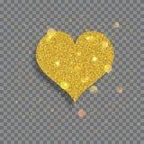 Big shiny heart Stock Photos