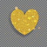 Big shiny heart Royalty Free Stock Photography