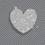 Big shiny heart Stock Images