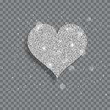 Big shiny heart Stock Photo