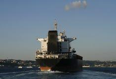 Big ship on Bosphorus, Istanbul Stock Photos