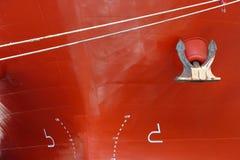 Big ship, closeup Stock Image