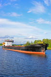 Big ship on river Stock Photography