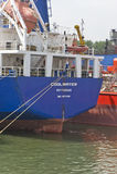 Big Ship Stem Stock Photography