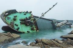 Big shipwreck Royalty Free Stock Photos