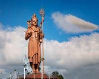 Big Shiva statue Mauritius. Big and amazing Shiva statue,near grand Bassin temple in Mauritius island stock photo