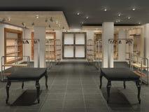 big shop inside empty, Royalty Free Stock Image