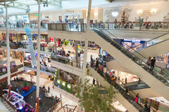 Big shopping Mall, premier shopping destinations. Royalty Free Stock Images