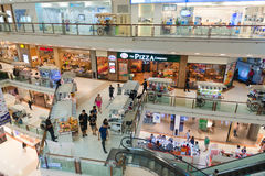 Big shopping Mall, premier shopping destinations. Stock Image