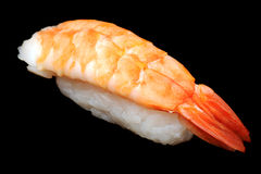 Big shrimp nigirizushi (nigiri sushi) Stock Photo
