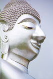 The big silver buddha Royalty Free Stock Photo