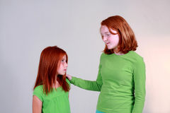 Big Sister Helper Royalty Free Stock Image