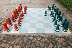 Big size chess Stock Photography