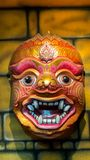 Big Size of Hua Khon, The Ancient Thai Traditional Show Mask Royalty Free Stock Photography