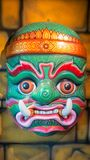 Big Size of Hua Khon, The Ancient Thai Traditional Show Mask Stock Image