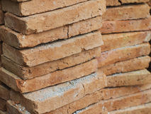 Big size of Red Bricks material for construction Stock Photos