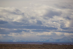 Big skies in rural Alberta Stock Photo