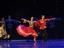 Big skirt-Gypsy Festival Dance-the Austria's world Dance Stock Images
