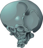 Big skull tattoo Stock Photos