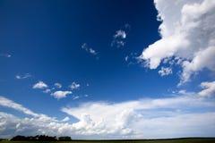 Big Sky Background Stock Photo
