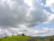 Big sky. So beautiful landscape from colombia Stock Image