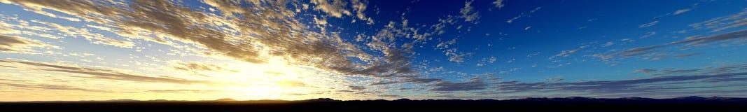 Big sky Stock Image
