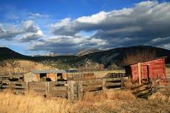 Big Sky - Little Farm Stock Photos