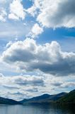 Big sky and loch tay. Loch tay Royalty Free Stock Photos