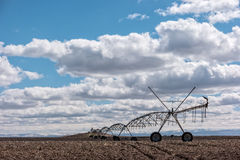 Big sky over farmland, south central Idaho Stock Photos
