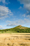 Big sky over Roseberry Topping Royalty Free Stock Images