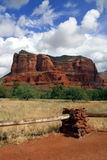 Big Sky of Sedona. A spectacular day in the American West Royalty Free Stock Images
