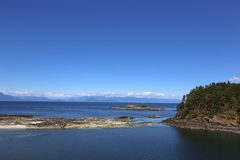 Big Sky View of the Mainland Stock Photography
