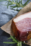 Big slice of smoked Ham Royalty Free Stock Photography