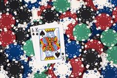 Free Big Slick On Chips Royalty Free Stock Image - 8223126
