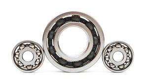 Big and small ball bearings Stock Image