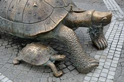 La Victoire turtle in Bordeaux Royalty Free Stock Photography