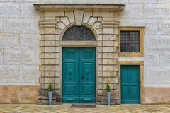 Big and small door Stock Photography