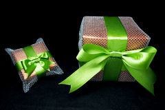 Big and small gifts Royalty Free Stock Photo