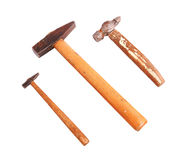 Big and small hammer Stock Images