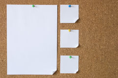 Big and small messages. Photo of Big and small messages royalty free stock photos
