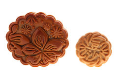 Big & Small Mooncake Royalty Free Stock Photo