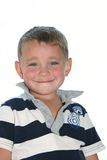 Big smile. Happy young boy, aged three Royalty Free Stock Photography