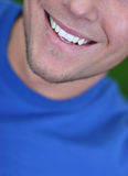 Big smile. From a young man Royalty Free Stock Images