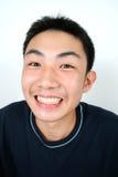 Big smile!. Close-up young asian man Stock Image